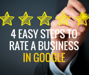 4 easy steps to rate a business in google
