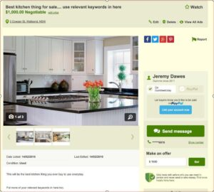 how to post an ad on gumtree