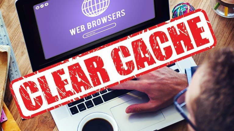clear your browsers cache