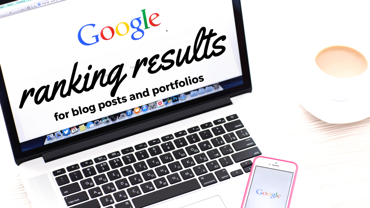 beef up your websites google positions with a portfolio and blogs