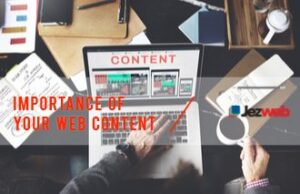 Importance of Your Web Content