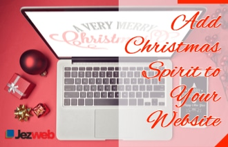 Add Christmas Spirit to Your Website