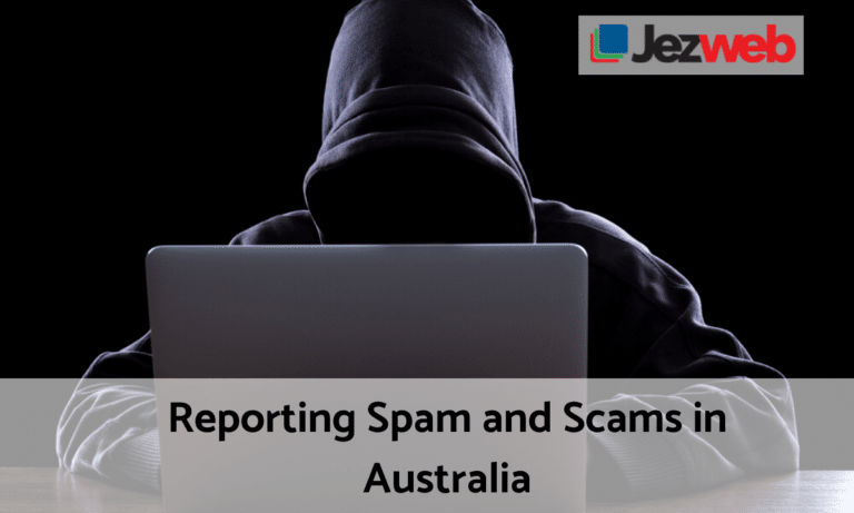 Reporting Spam and Scam in Australia
