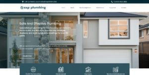 A and P Plumbing Website Design & SEO Northern Rivers NSW - JezNorthWeb