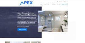 Apex Glass Website Design & SEO Northern Rivers NSW - JezNorthWeb