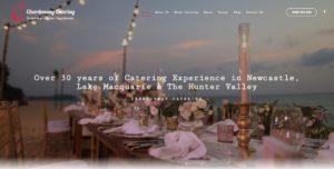 Chardonnay Catering Website Design & SEO Northern Rivers NSW - JezNorthWeb
