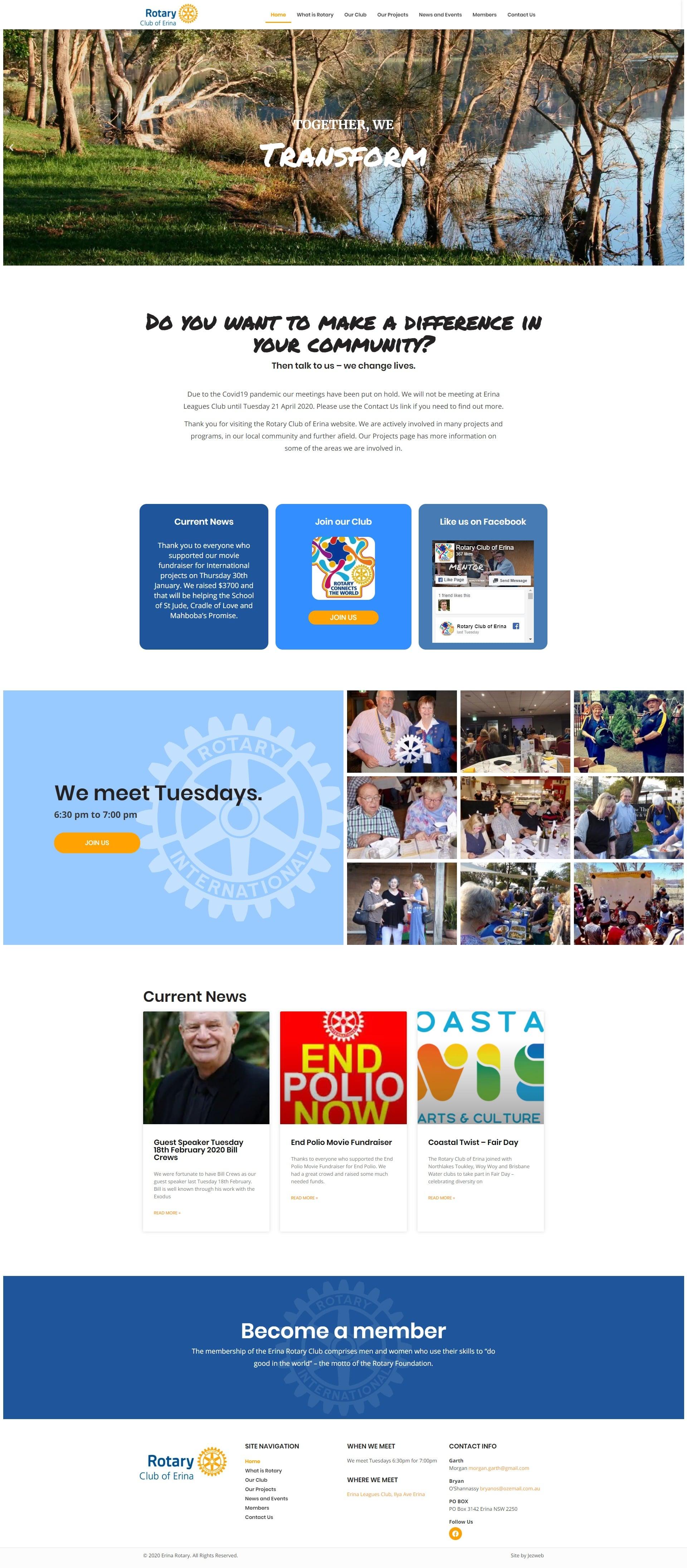 Rotary Club of Erina -