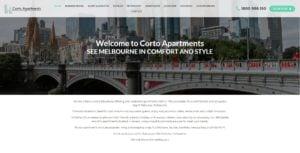Corto Apartments Website Design & SEO Northern Rivers NSW - JezNorthWeb