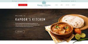 Kapoor's Kitchen Website Design & SEO Northern Rivers NSW - JezNorthWeb