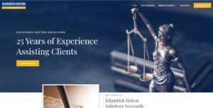 Kilpatric Hatton Solicitors Website Design & SEO Northern Rivers NSW - JezNorthWeb