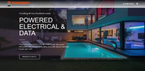 Powered Electrical and Data Website Design & SEO Northern Rivers NSW - JezNorthWeb