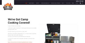 Top End Campgear Website Design & SEO Northern Rivers NSW - JezNorthWeb