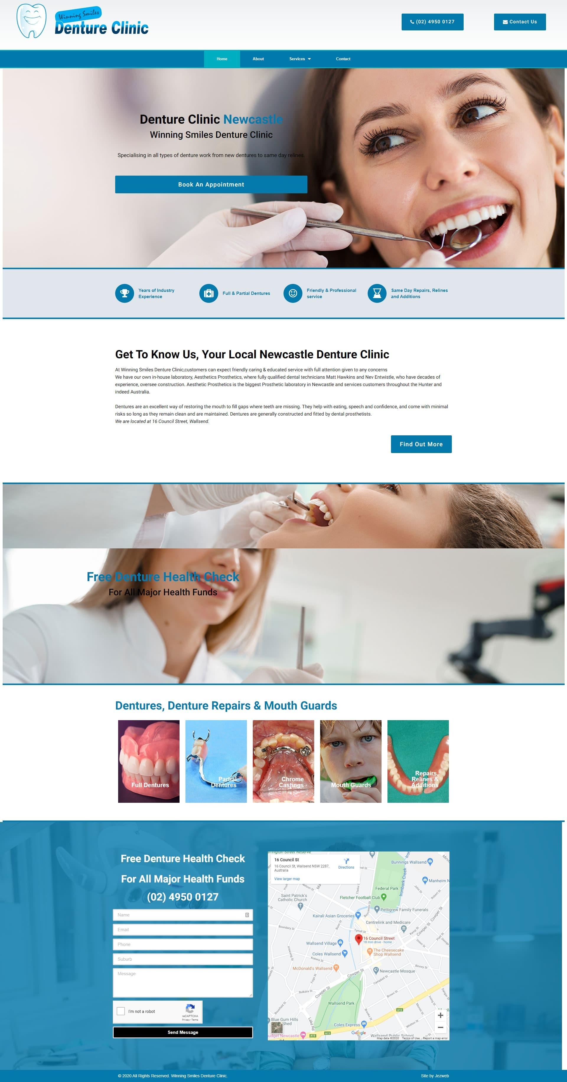 Winning Smiles Denture Clinic -