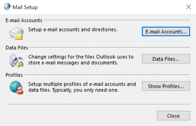 Email Setup for Outlook 2016 with Rackspace Mail - Jezweb