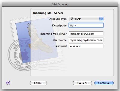 Email Setup for Mac Mail - Jezweb