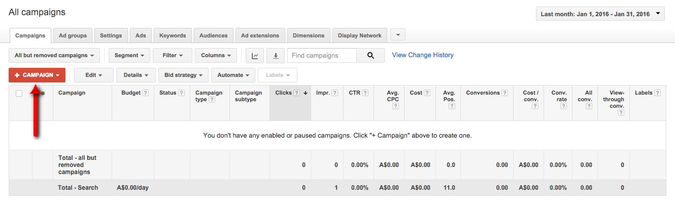 01-Campaign-Management-–-Google-AdWords-This-is-the-campaign-management-view