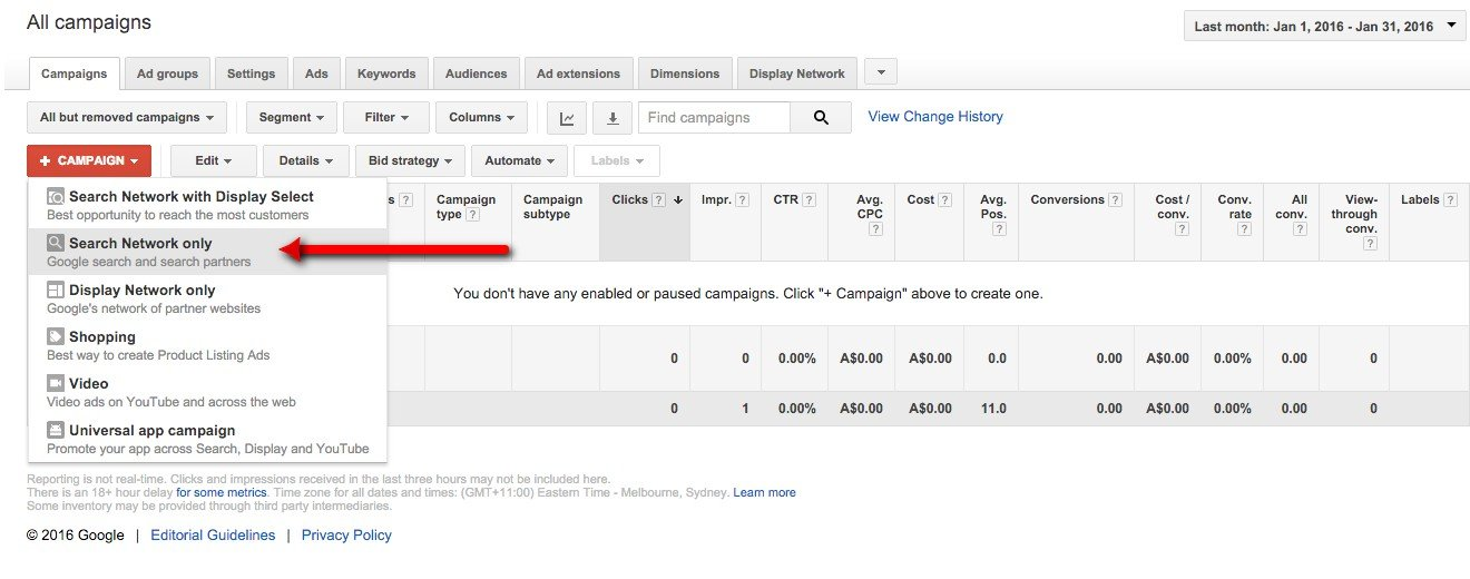 02-Campaign-Management-–-Google-AdWords-Select-Search-Network-Only