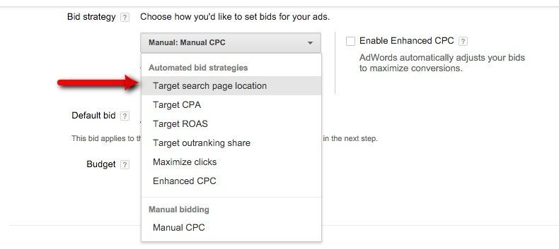 08-Campaign-Management-–-Google-AdWords-Select-Target-search-page-location
