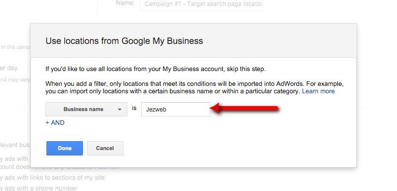 11-Campaign-Management-–-Google-AdWords-Filter-for-your-business-name