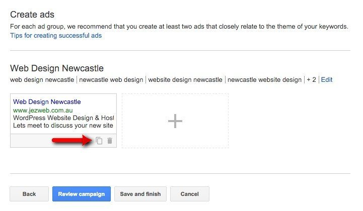 26-Campaign-Management-–-Google-AdWords-Create-the-ad-then-duplicate-it