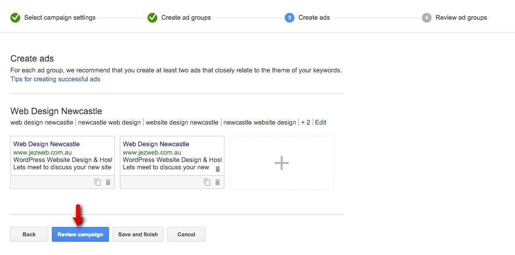 29-Campaign-Management-–-Google-AdWords-Save-the-ad-so-we-have-two-ads-with-one-just-for-mobile