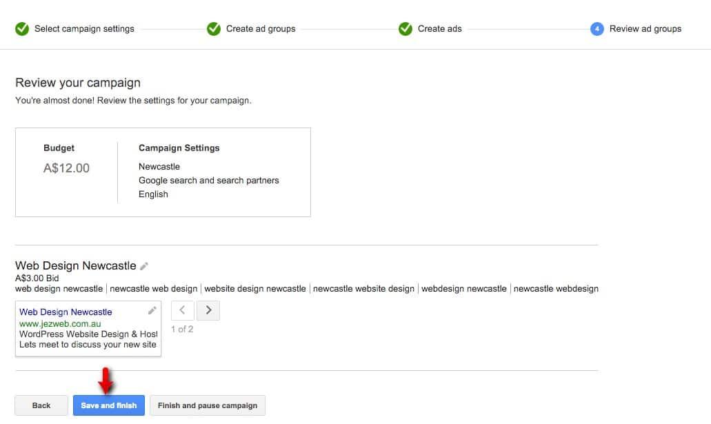 30-Campaign-Management-–-Google-AdWords-Review-your-campaign