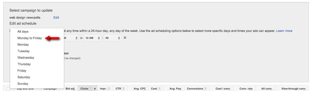 49-Campaign-Management-–-Google-AdWords-Select-Monday-to-Friday
