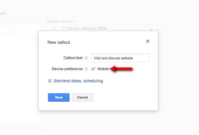 57-Campaign-Management-–-Google-AdWords-Example-of-mobile-specific-callout