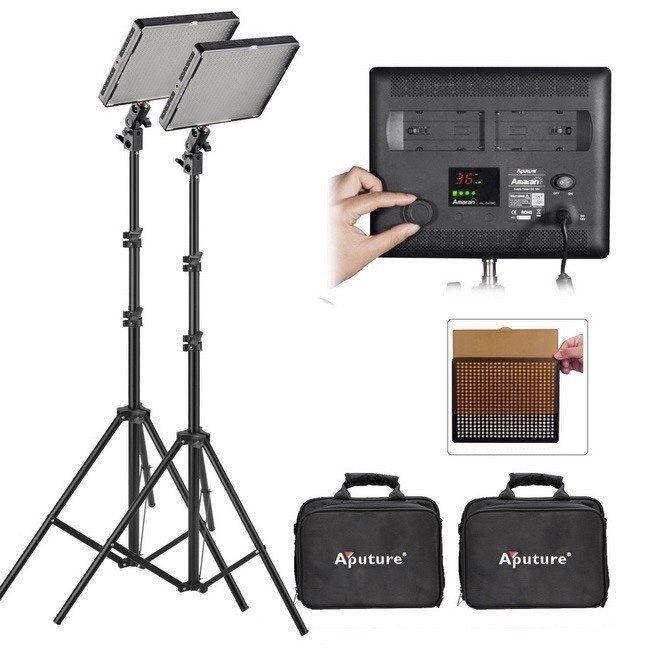 Aputure-Amaran-AL-528W-CRI95-LED-Video-Studio-Light