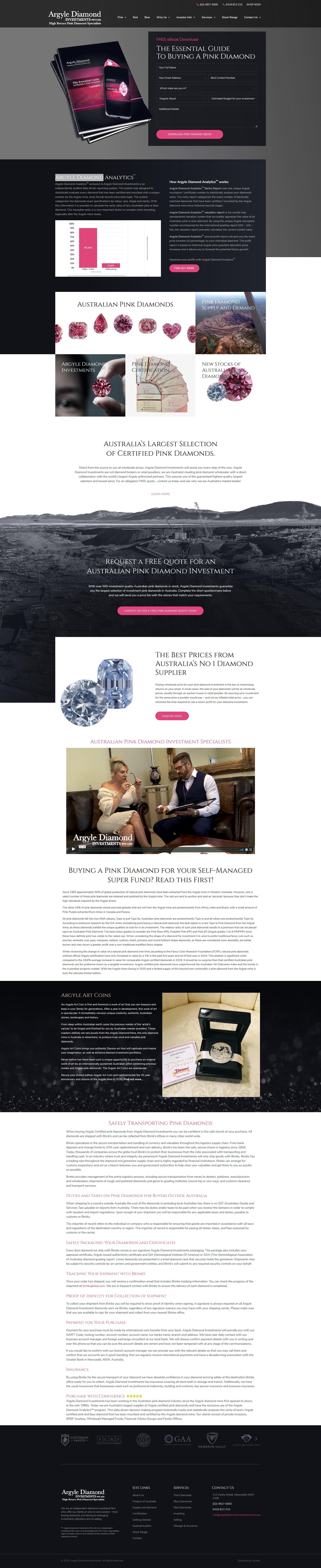 Argyle Diamond Investments -