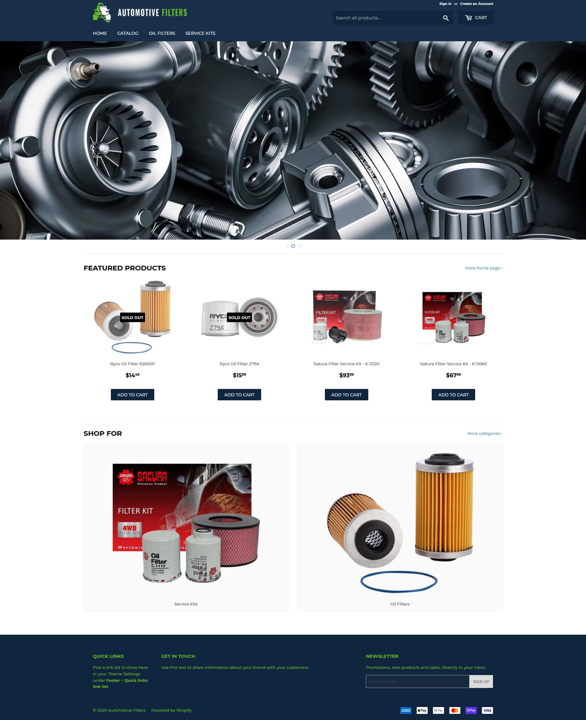 Automotive Filters -