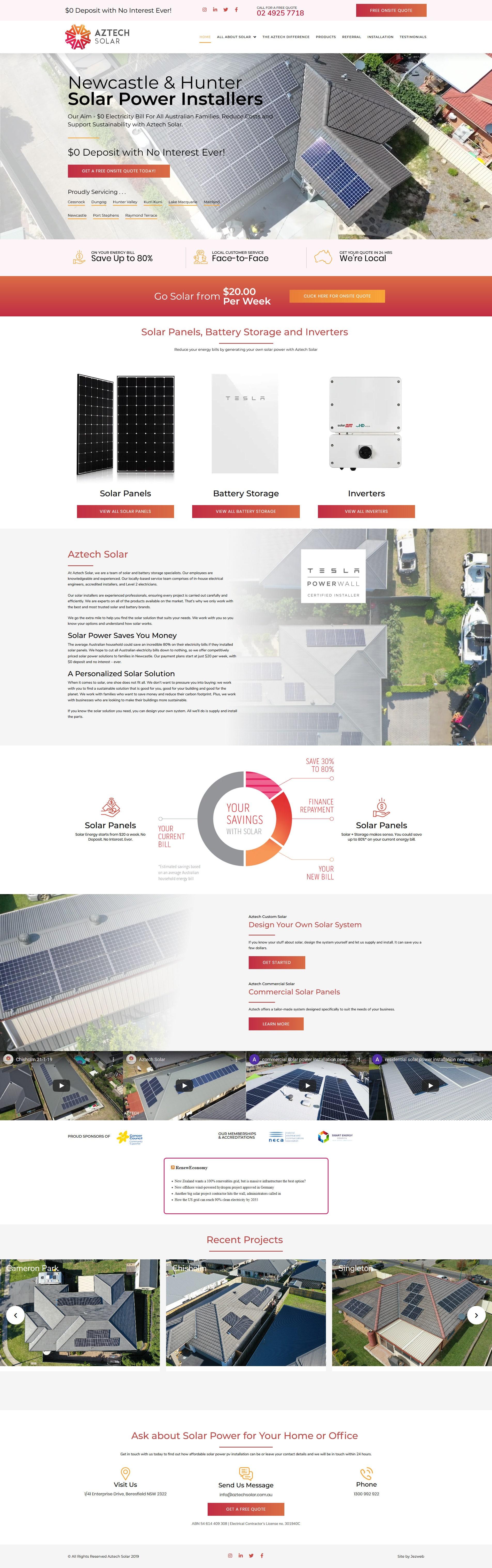 Aztech Solar -