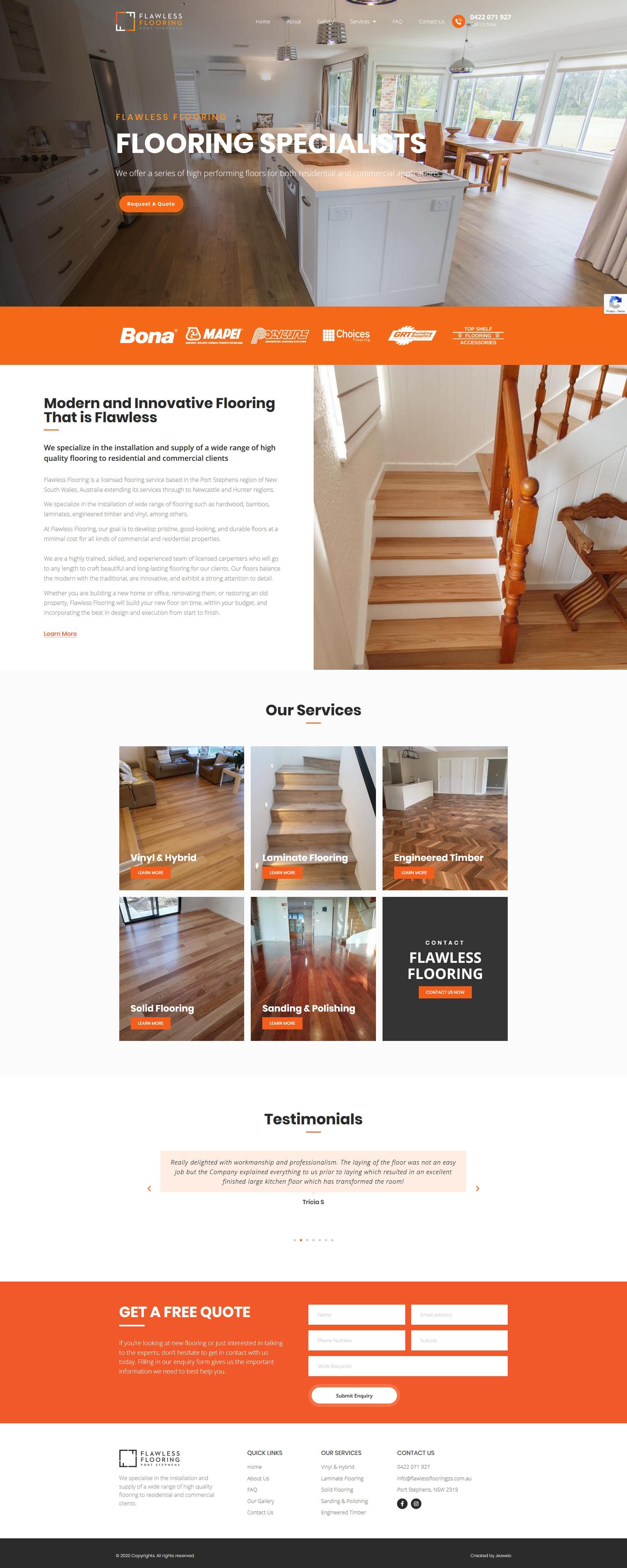 Flawless Flooring Port Stephens -