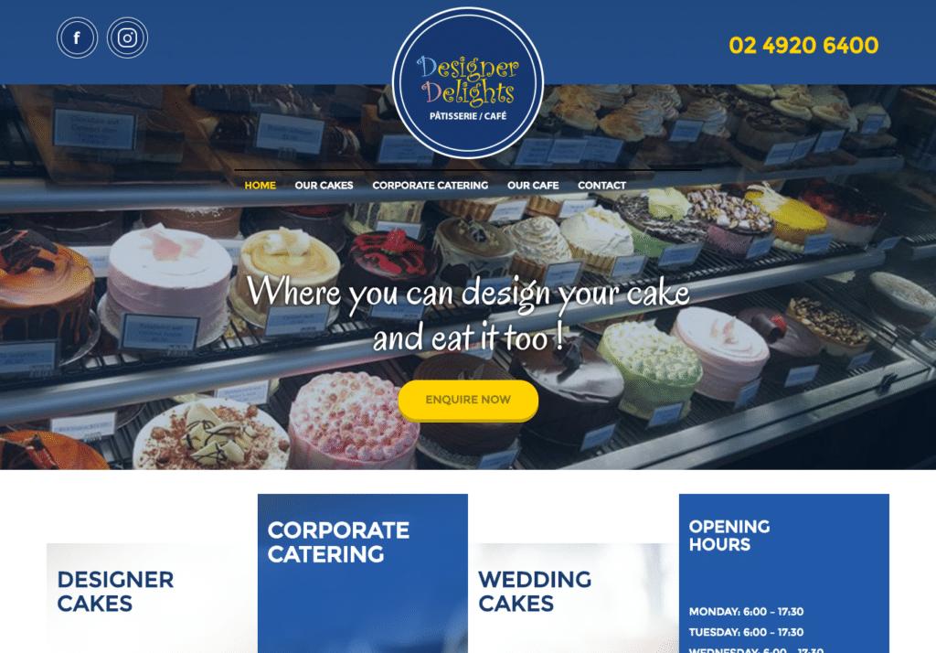 Selected website builds in 2016 -