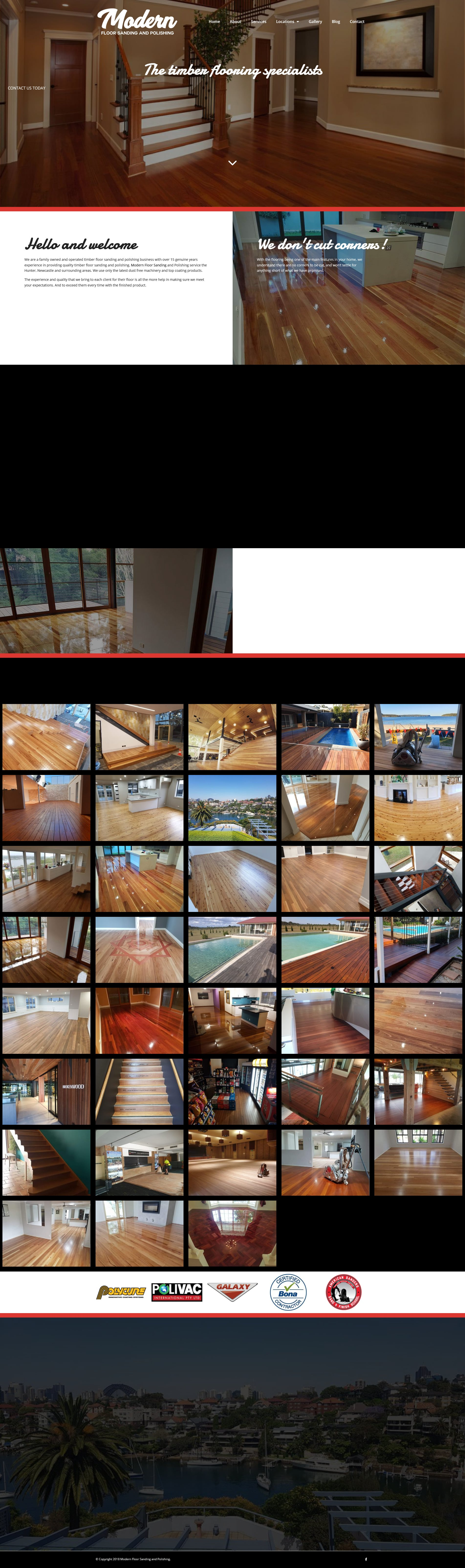 Modern Floor Sanding and Polishing -