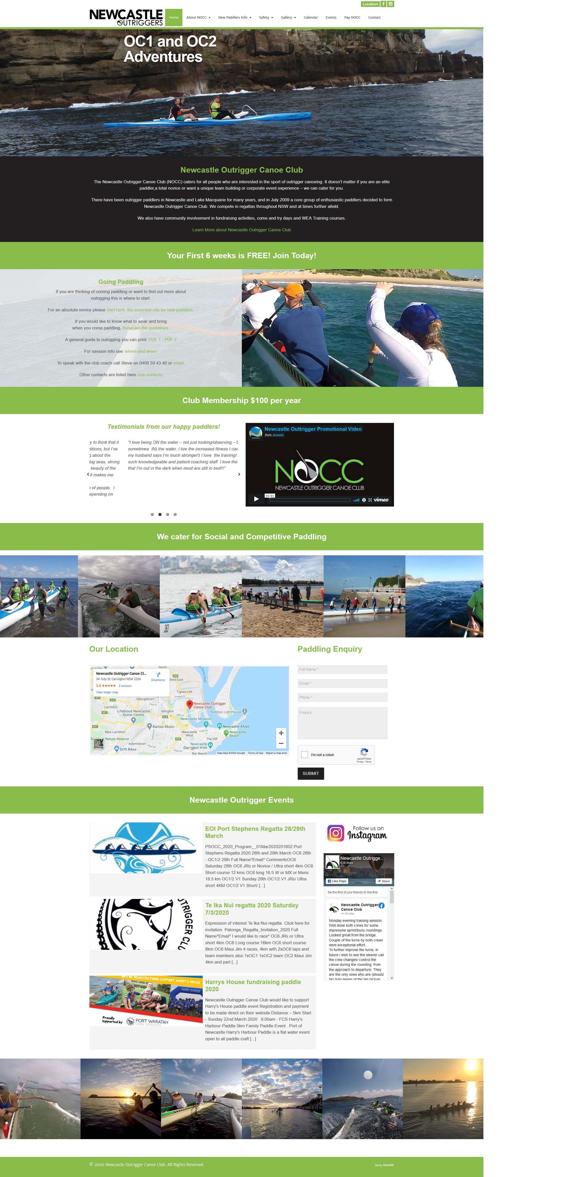 Newcastle Outrigger Canoe Club -