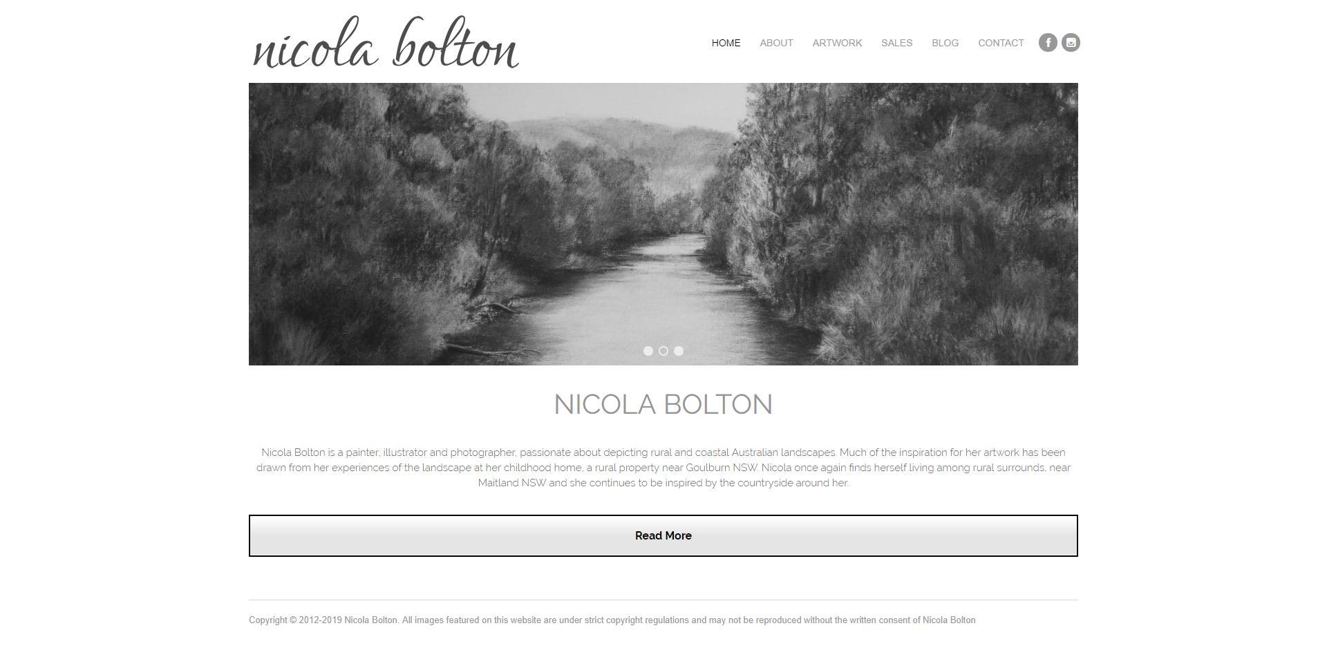 Minimalist Website Design -