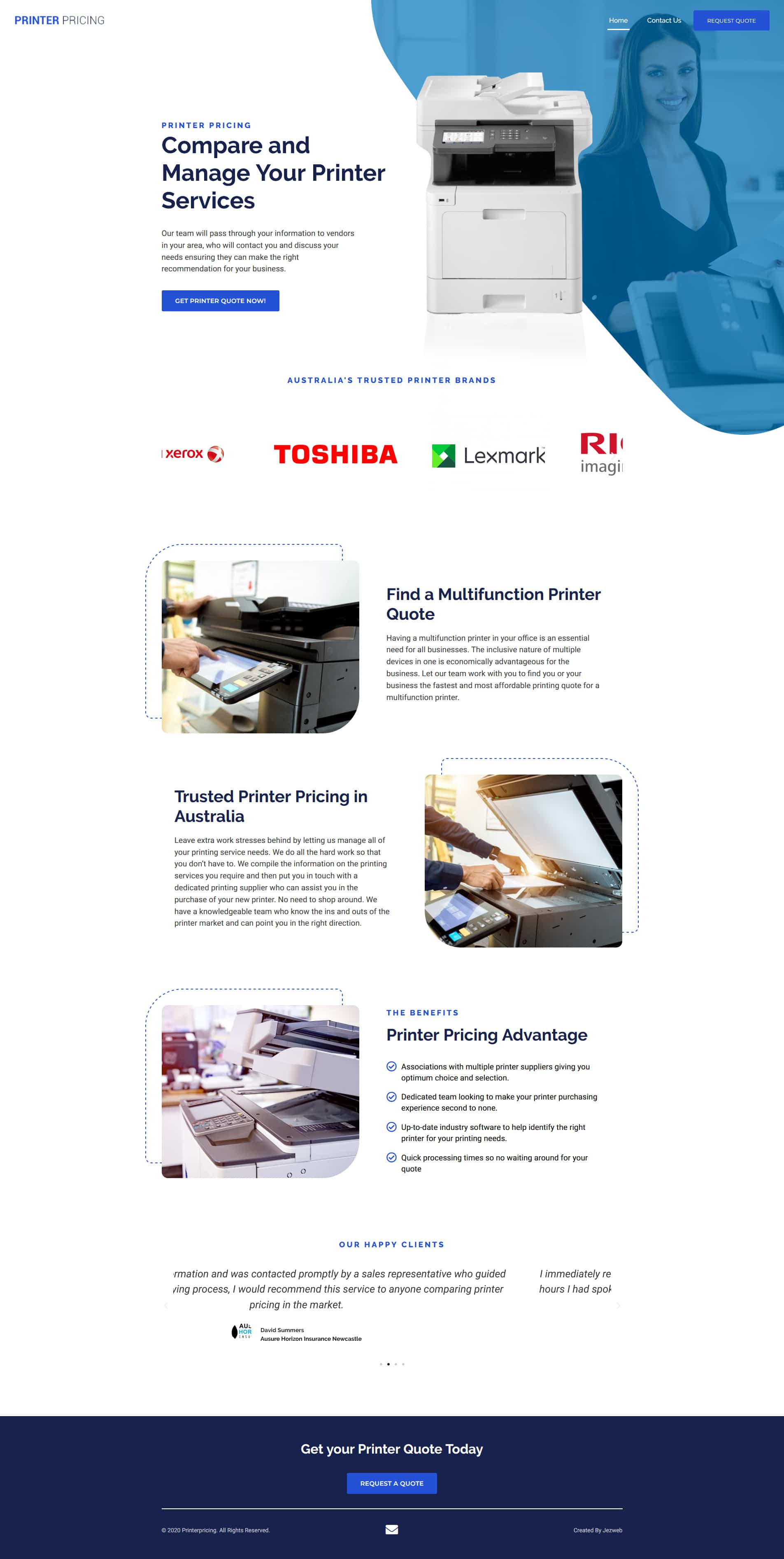 Printer Pricing -