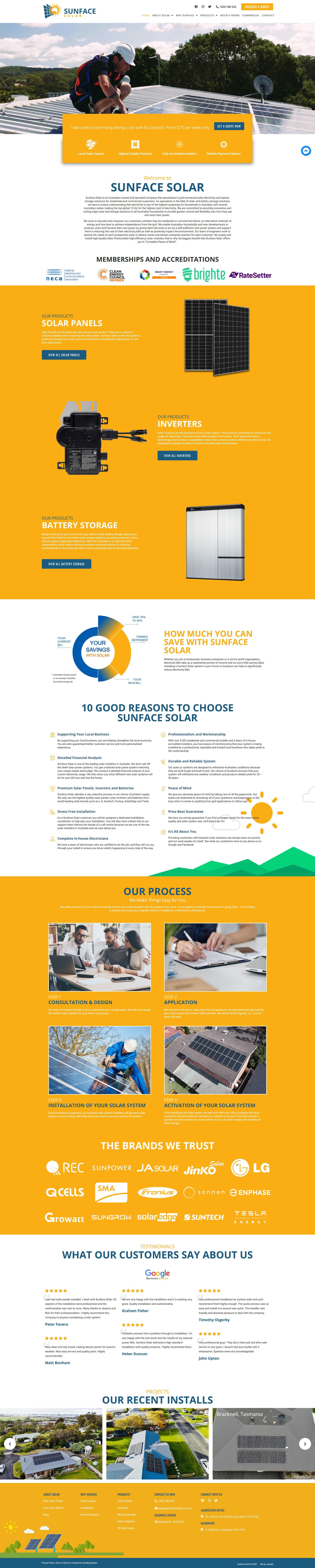 Sunface Solar -