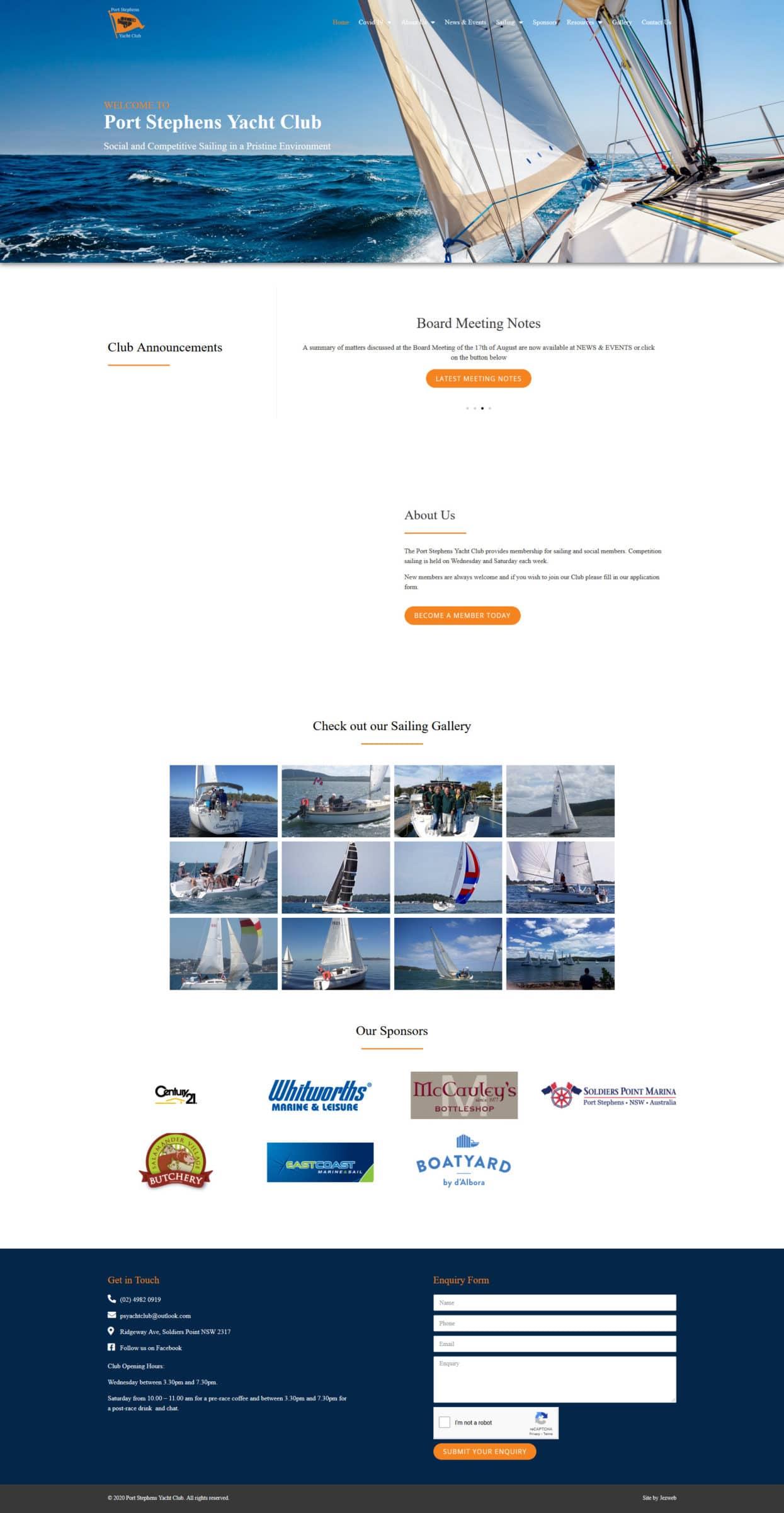 Port Stephens Yacht Club -