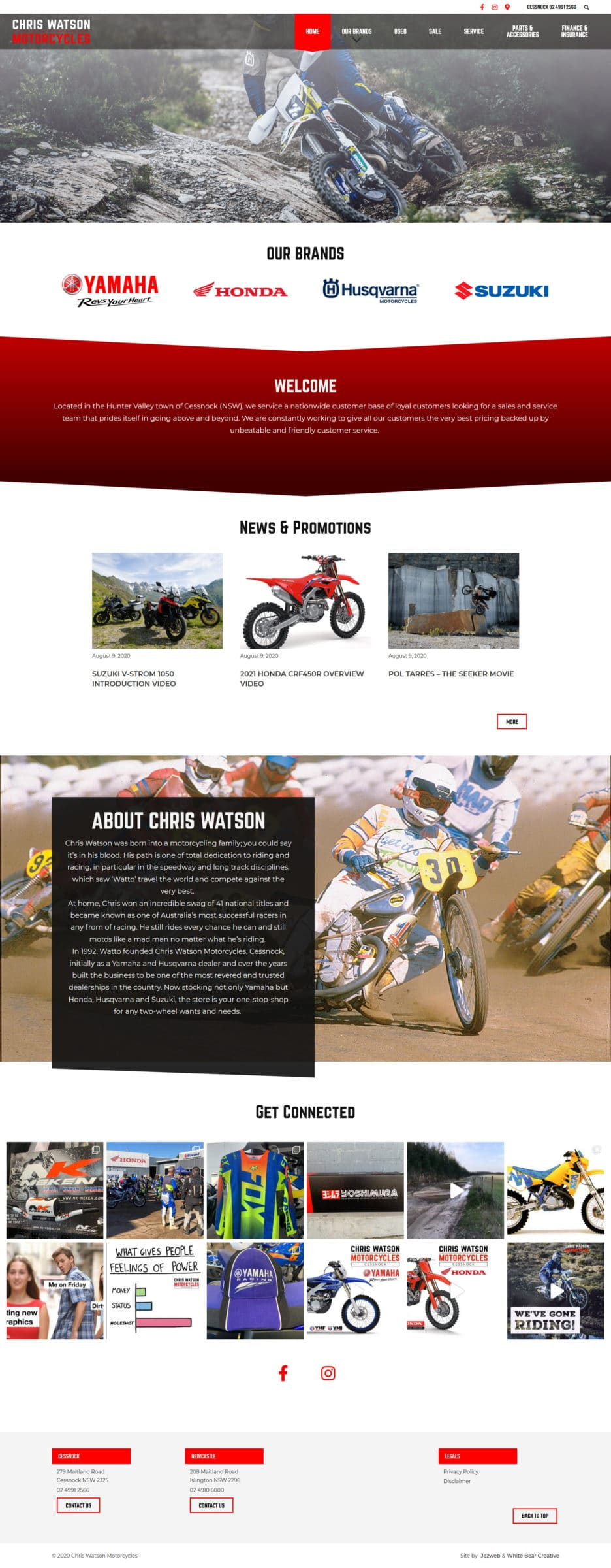 Chris Watson Motorcycles -