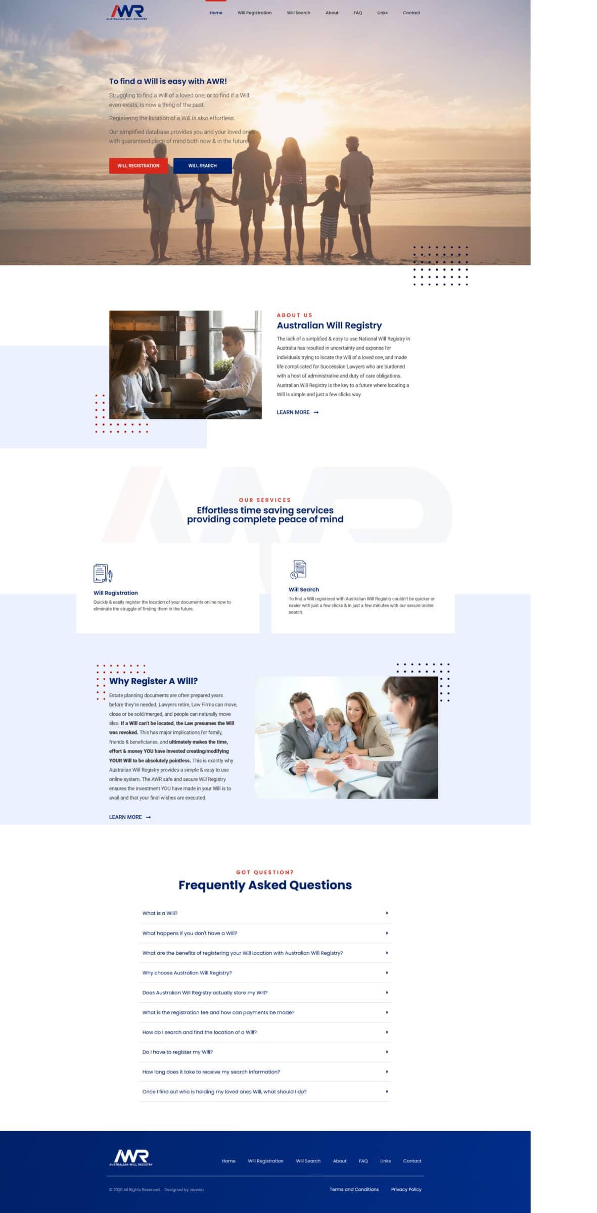 Australian Will Registry -