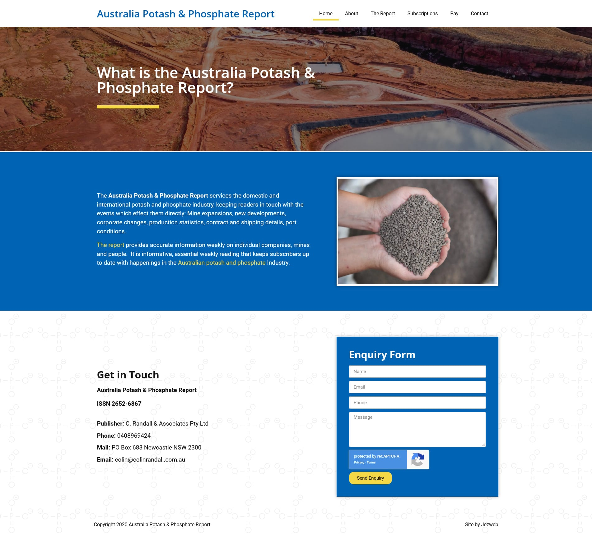 Australia Potash and Phosphate Report -
