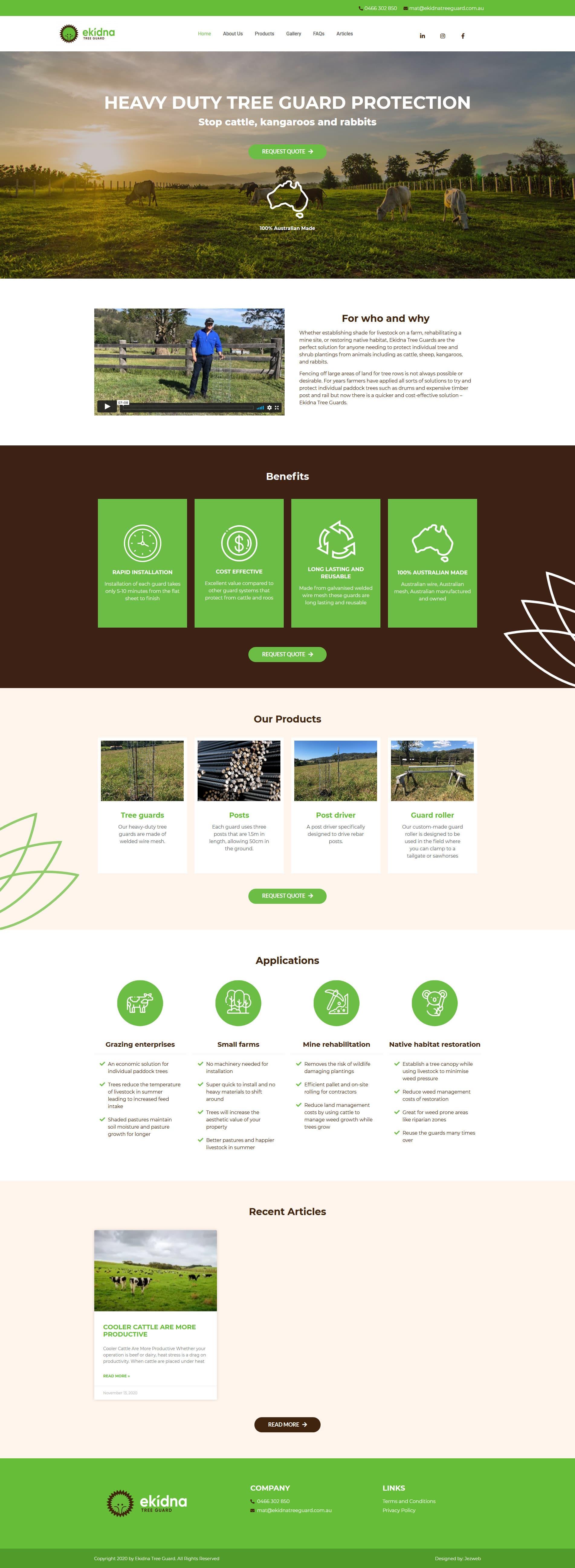 Ekidna Tree Guard -