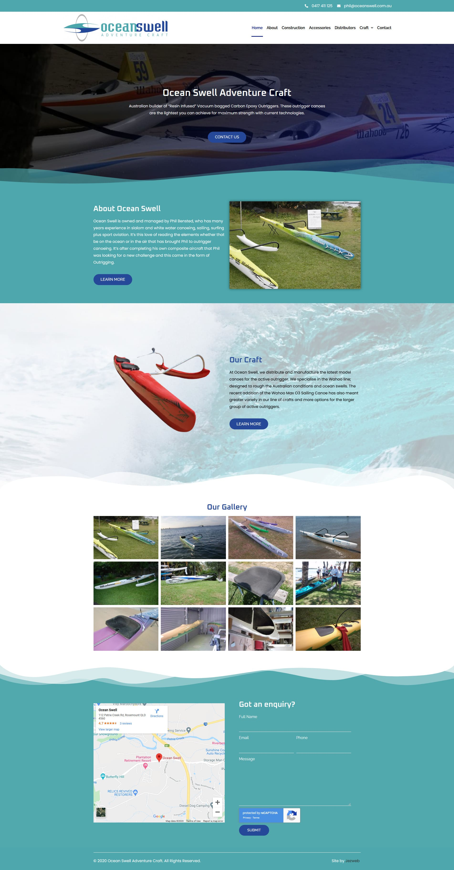 Ocean Swell Adventure Craft -