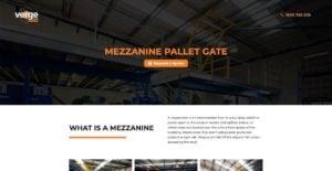 mezzanine pallet gate feature image