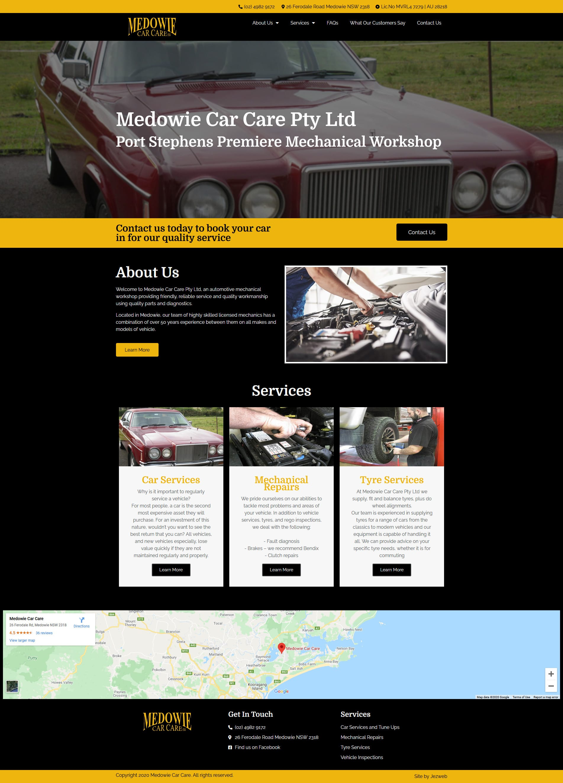 Medowie Car Care -