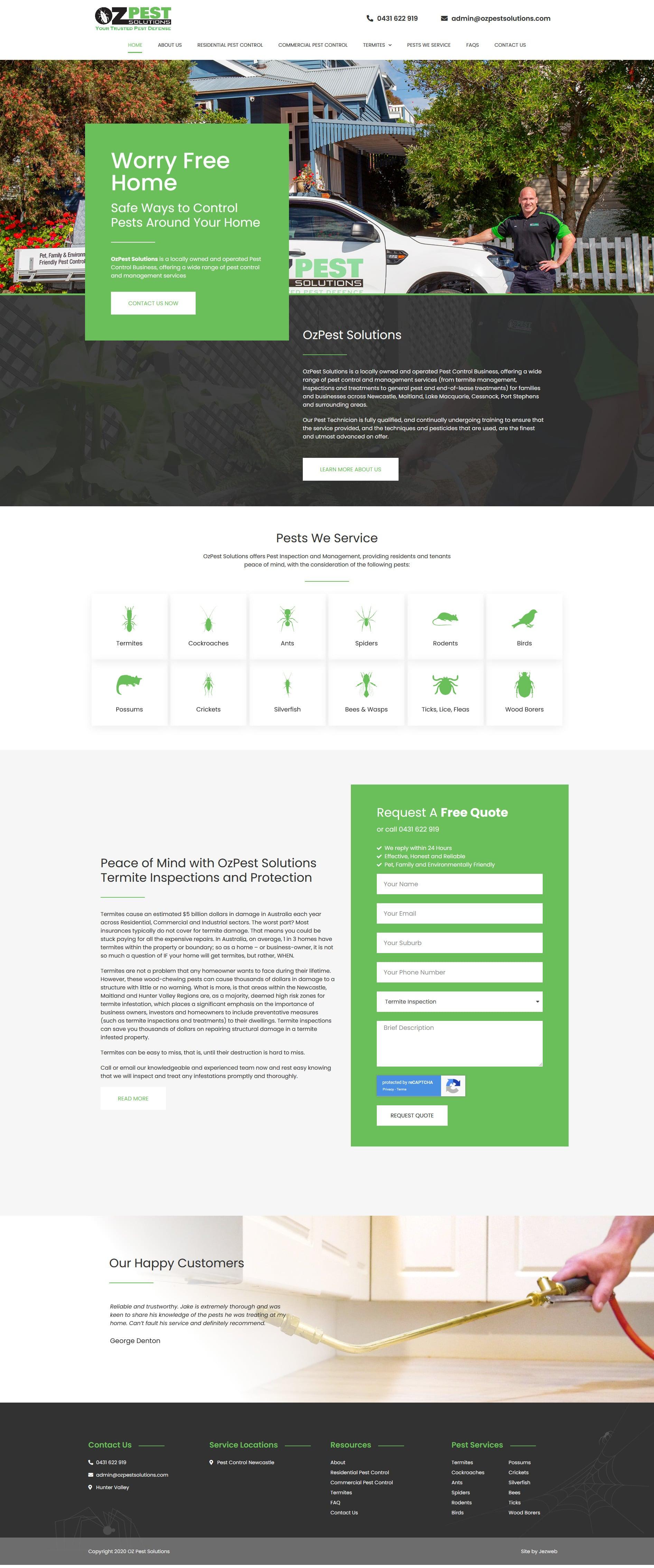 Oz Pest Solutions -