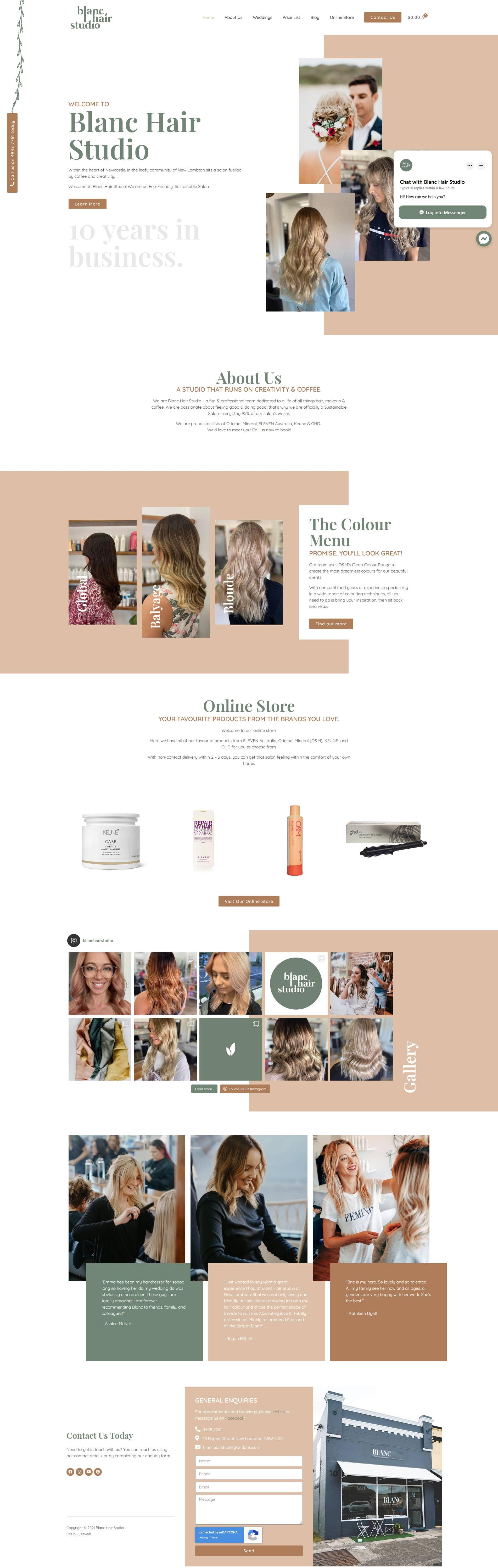 Blanc Hair Studio -