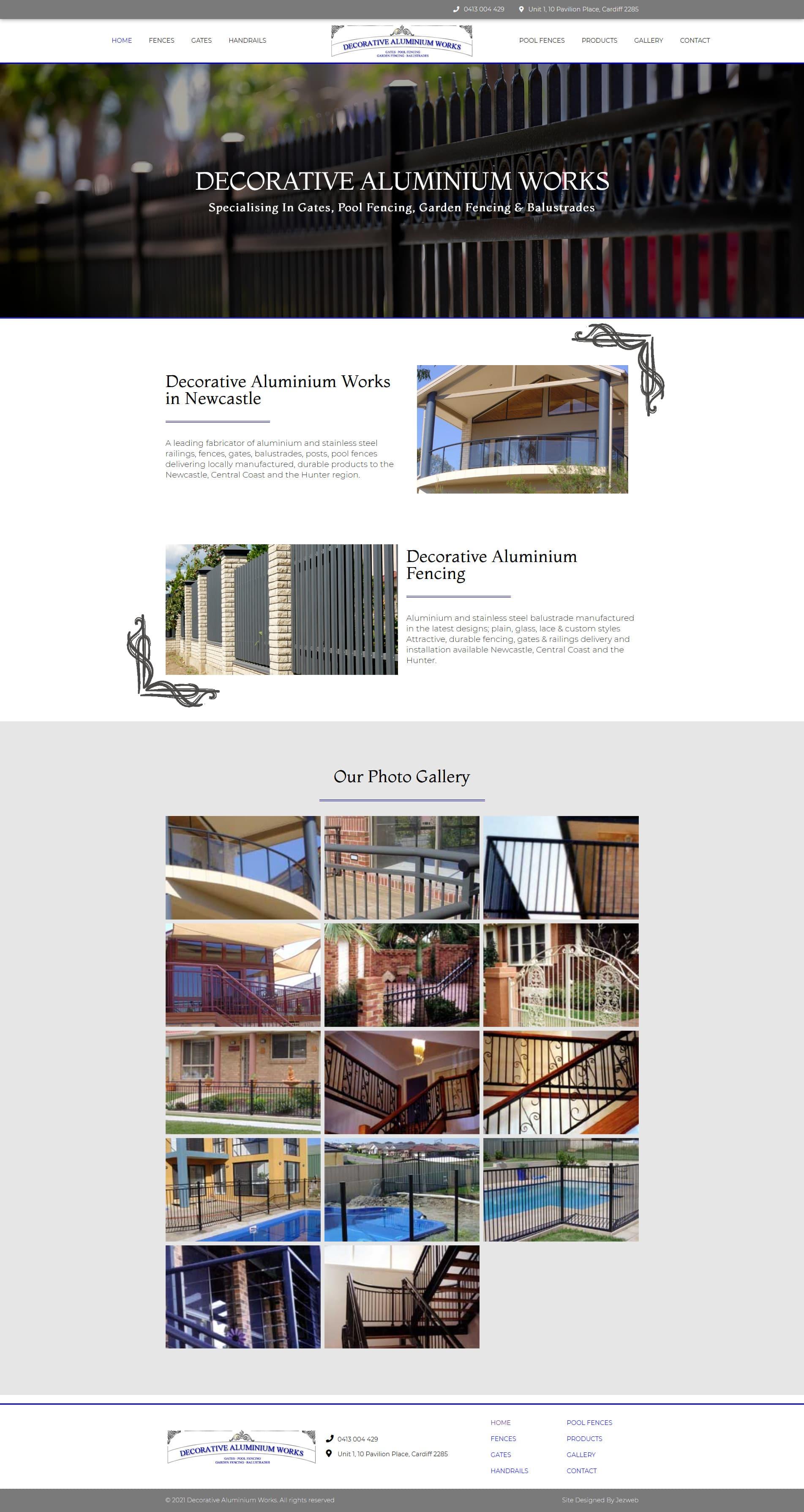 Decorative Aluminium Works -